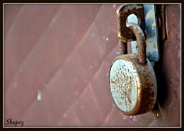 Rubik's lock...