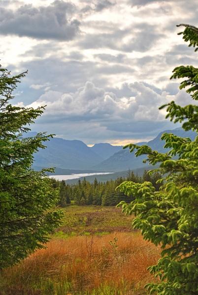 Distant Mountains, Scotland by ggdorrian