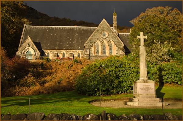 Aberfoyle Church. by myrab