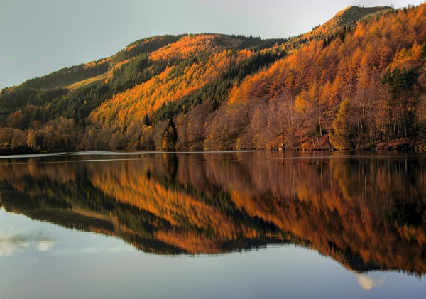 Loch Faskaly Reflection