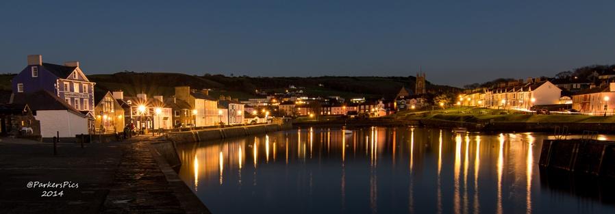Aberaeron harbour - West Coast of Wales