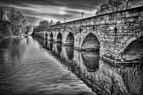Clopton Bridge Stratford Upon Avon by maffoo1973