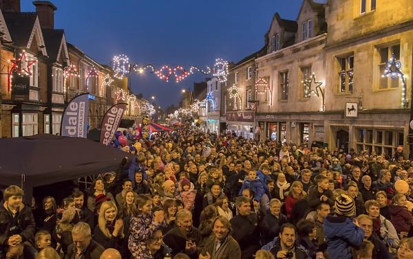 Christmas Lights Switch On by GordonLack