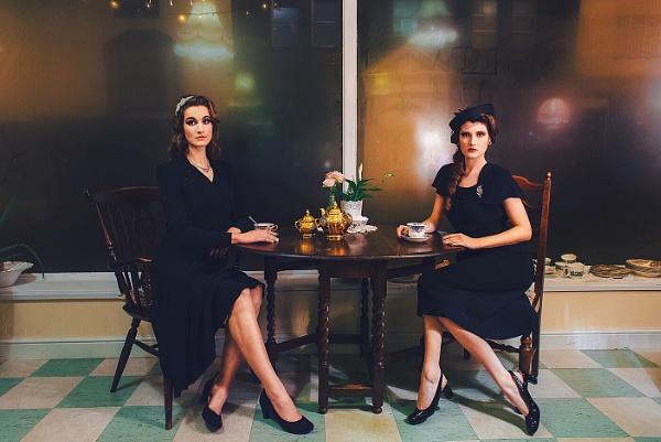 Lucy and Gabriella by mariadraganphotography