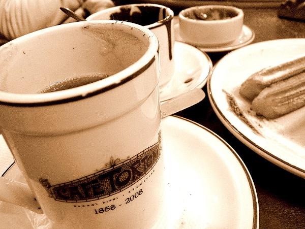 Cafe Tortoni by mtorighelli