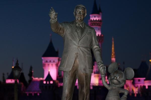 Disneyland Partners Walt Disney and Mickey Mouse by msdlpierce7530
