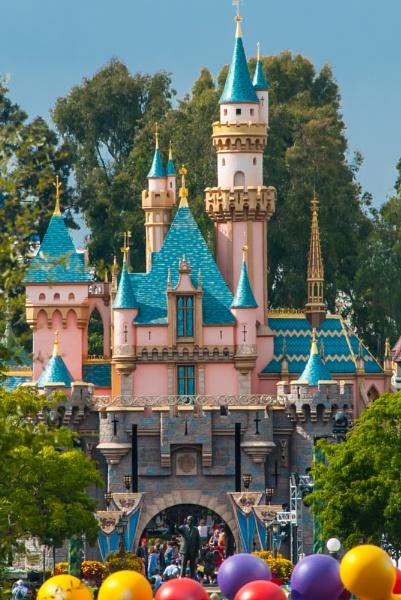 Disneyland, Sleeping Beauty Castle, Walt Disney, Mickey Mouse by msdlpierce7530