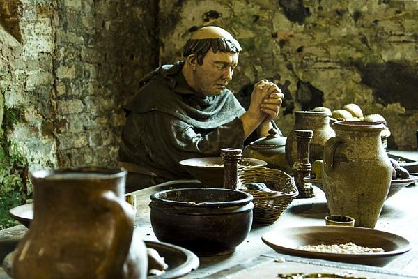 Monk\'s mealtime by TrevorPlumbe