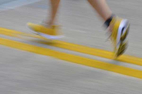 Running Feet by mmetzing