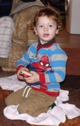Lewis aged 2 again