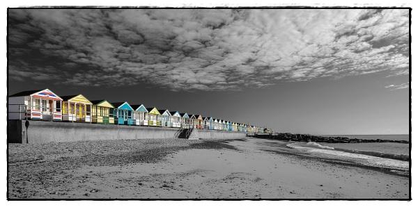 Southwold Beach Huts by jonkennard