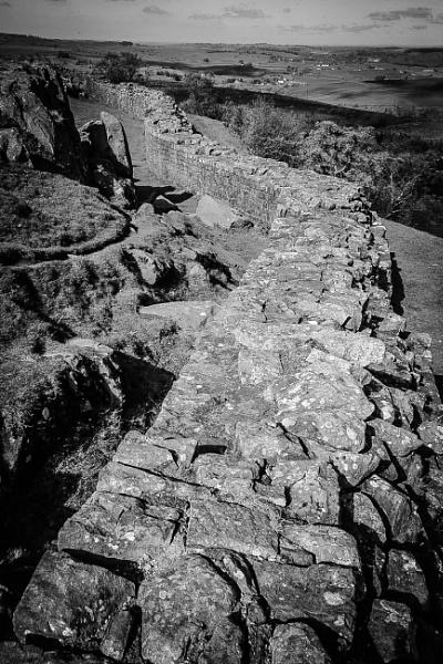 Hadrian\'s Wall. by icphoto