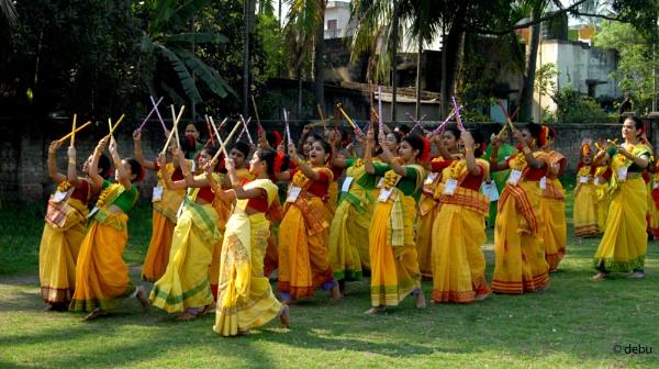 Holi (Basant Utsav / Spring Festival)..2 by debu