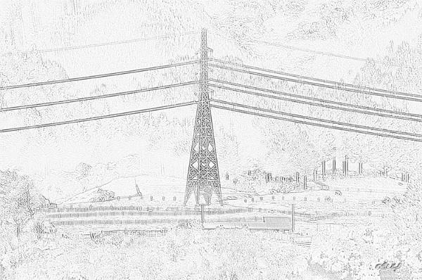 Muhunoa East 0345, pencil sketch by paulknight