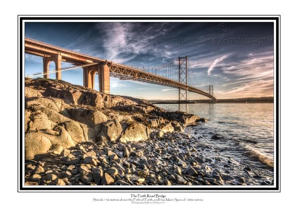 The Forth Road Bridge by MunroWalker