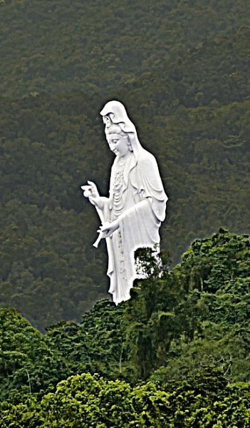 Buddha at Ting Kok, Tai Po. by hongkongphoto