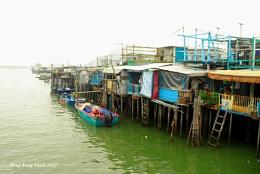 Stilts houses Tai O