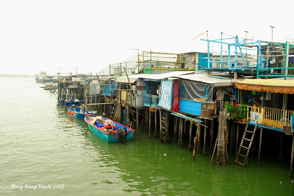 Stilts houses Tai O by hongkongphoto