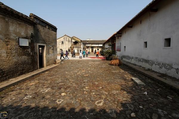Ancient houses China by hongkongphoto