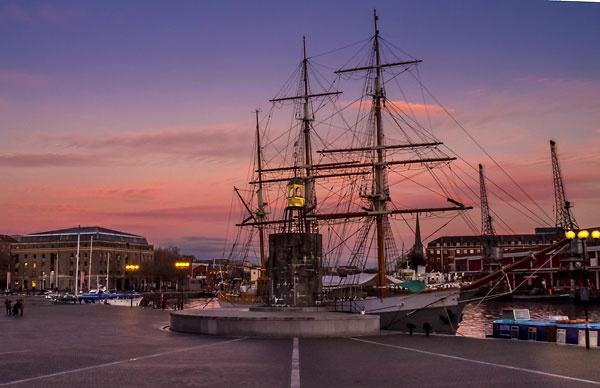 \'Kaskelot III\' at Bristol Docks by Pricey