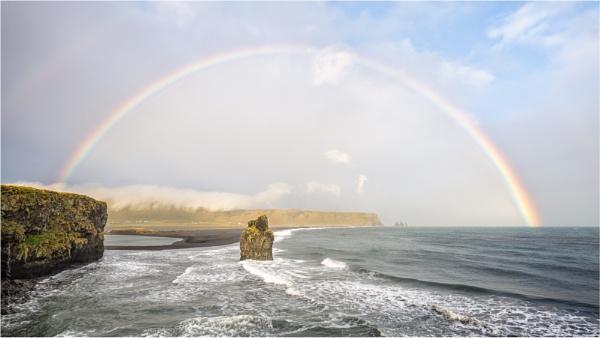 Arnardrangur Rainbow by PhilNewberry