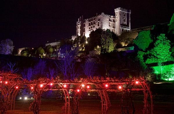 *Powys Castle, Night Illumination spectacular by Mynett