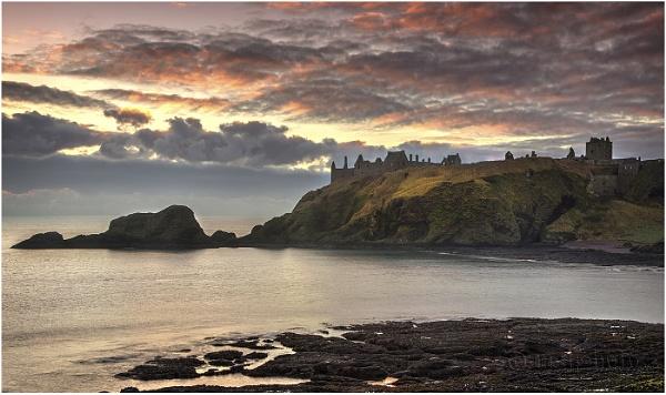 Dawn, Dunnottar Castle by Mstphoto