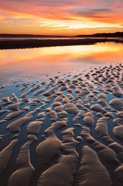 South coast sunset by NippyN