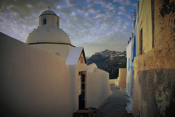 walk around Santorini by atenytom