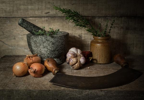 Kitchen shelf by chavender
