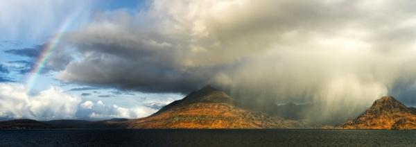 Rainbows & Rain... by Scottishlandscapes