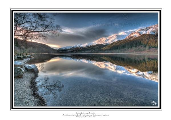 Loch Lubnaig Sunrise by MunroWalker