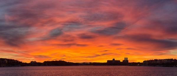Stockholm Sunset by SteveOh