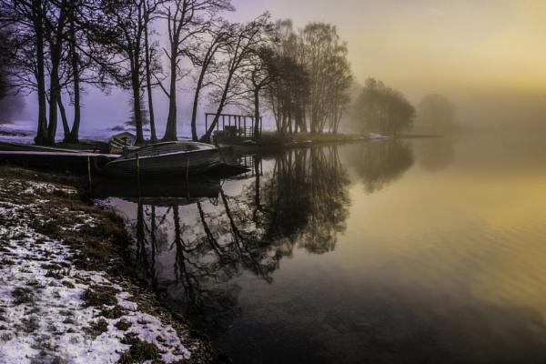 Morning hues, Loch Achray by RayBeck