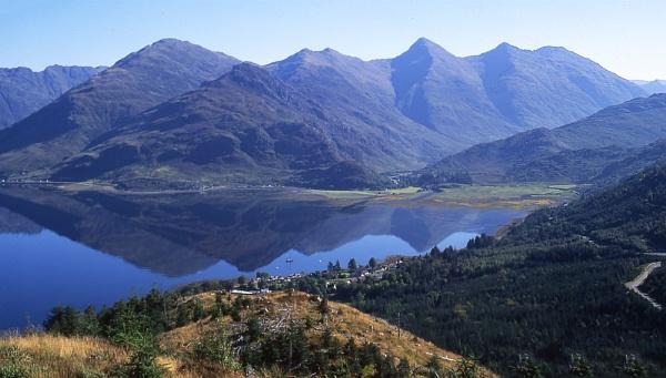 Loch Duich & Five Sisters of Kintail by johnwnjr
