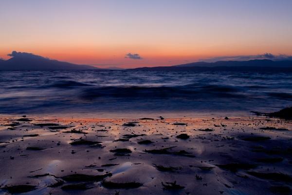 Ganavan beach, Oban by Blundez