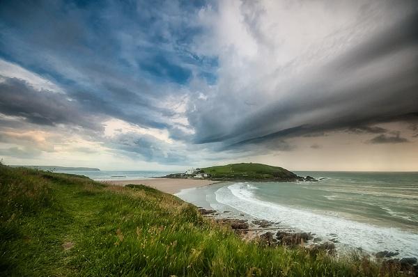 Burgh Island Storm Front by ilocke