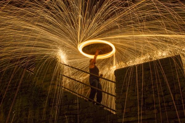 Fire Spinner! by cyman1964uk
