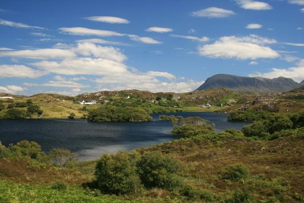 Loch Drumbeg, Sutherland by briand47
