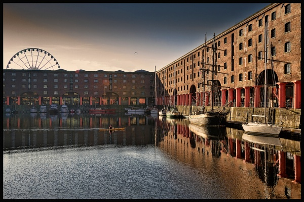Albert Dock by RonW1123
