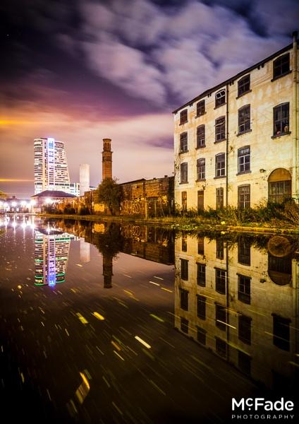 Leeds at Night by ade_mcfade