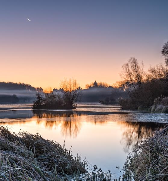 Castle Howard Dawn by richardburdon