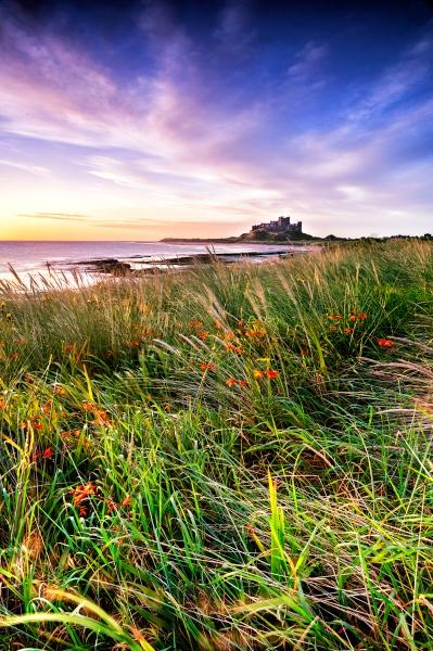 Bamburgh From Harkness Dunes by richardburdon