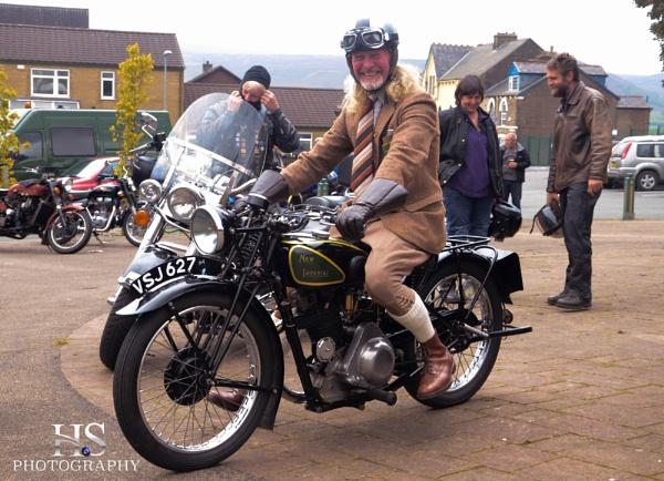 Vintage Motorcycle by Garyhoward