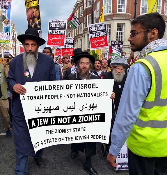A Jew is Not A Zionist ! by kombizz