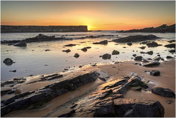 Collieston Sunrise by Mstphoto