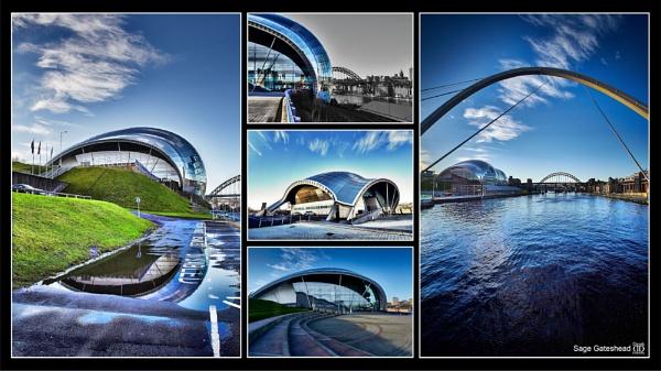 Sage Gateshead by tynetoons