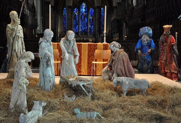 The Nativity - Salisbury Cathedral by AshleyD