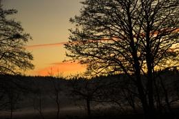 Sunset in Aberfoyle