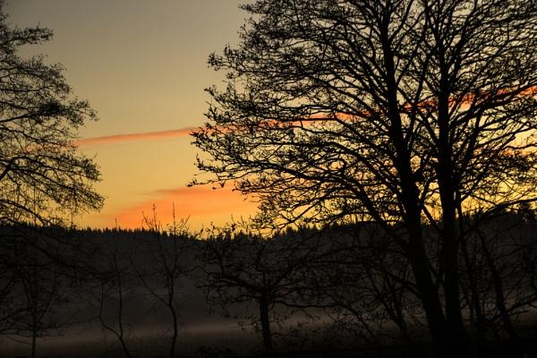Sunset in Aberfoyle by Irishkate
